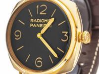 Officine Panerai 3 Days Oro Rosso Watch PAM00379