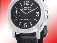 """Gent's Stainless Steel Panerai """"Luminor Marina PAM111"""