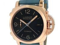 Gents Panerai Luminor Flyback Chronograph in 18K rose