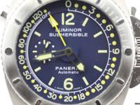 Description: Brand: Panerai Movement: Mechanical
