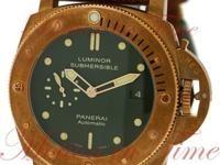 THE LUMINOR SUBMERSIBLE 1950 3 DAYS AUTOMATIC BRONZO