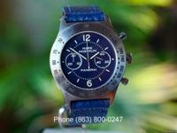 Panerai Mare Nostrum Chronograph Pre Vendom Blue Dial