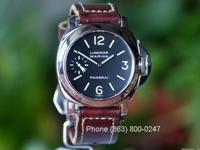Panerai PAM 01 BT Luminor Marina with Tritium Dial, 44