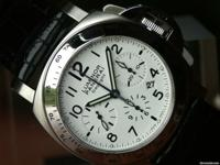 Panerai PAM 188 Chronograph White Dial stainless steel