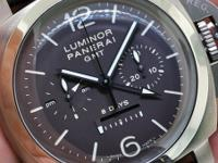 Movement: hand-wound mechanical, Panerai Calibre