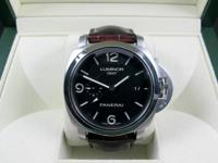 Panerai PAM 320 Luminor GMT Stainless Steel 44m 1950 3