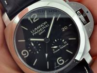 Movement: automatic mechanical, Panerai P.9002 calibre,