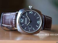 The Panerai PAM 322 is the first titianium model