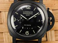 Features Chronometer Certified Case Details 44mm Black