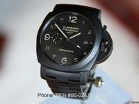 Panerai PAM 438 Luminor Marina GMT Ceramic Tuttonero on
