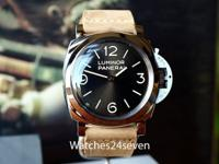 Panerai PAM 665 Luminor 3 days Coffee Sunburst Dial LTD