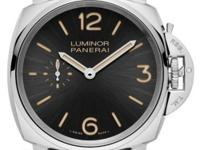 Panerai PAM 676 Luminor Due 3 Days Acciaio Sun-Brushed
