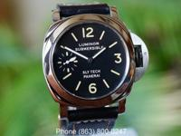 Panerai Pre Vendom 5218-205A Slytech Submersible Black