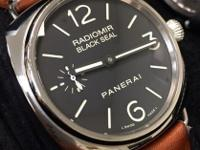 COMES WITH BOXES AND PAPERS. COMES WTIH 2 PANERAI