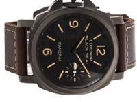 Pre-Owned Panerai Luminor Black Seal Left-Handed Set