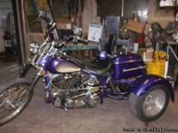 THIS IS A 1952 PANHEAD TRIKE, BUILT FROM PARTS