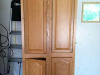 (2) bathroom cabinets for sale by Pace  each cabinet