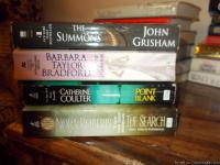 Hi , have 4 paperback books--good to excellent shape