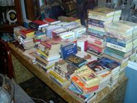 Have hundreds of used paperbacks (horror, romance,