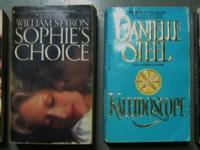 PAPERBACK BOOKS HARDCOVER BOOKS FICTION NON FICTION