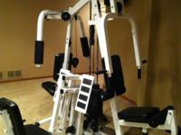 Parabody 350 with LEG PRESS!!!! High quality, compact,