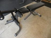 Parabody Heavy Duty Weight Bench Includes 3 adjustable