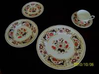 The finest bone china. Delicate and beautiful. Colorful