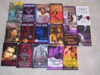 I have numerous paranormal romance books for sale. I am
