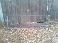 park model bicycle paring station approx. 9 feet long,