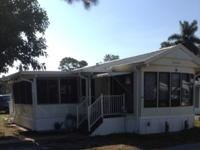 Park Model 2 BR Home with New Florida Room - Great