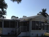Park Model 2 BR Home with New Florida Room Canterbury