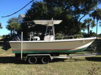 1992 Parker 21' Sport powered by a 2001 Yamaha 225 OX66