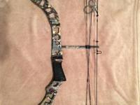 "Parker Frontier 2 Plus Compound Bow 30"" Draw, 70lb max,"