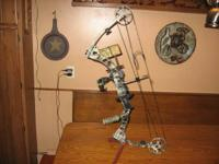 I'm selling my Parker Frontier substance bow. It is