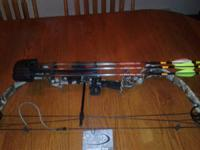 Parker Sidekick XP youth or ladies compound bow, RH,
