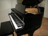 "5'7"" Diapason (made by Kawai) parlor grand piano in"