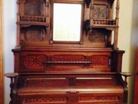 We have a gorgeous old pump organ that we have actually