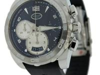 Hours, Minutes and Sub-seconds, Chronograph, Luminous