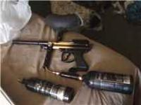 hello I am posting a parodox paintball marker for sale