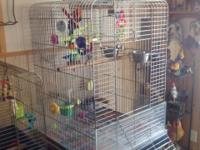 I have a parrot cage for sale. For sun conures on up,