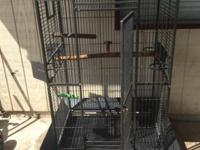 I have a parrot bird cage for sale if you Interesting