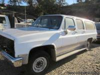 Parting Out: 1985 Gmc Suburban We are dismantling this