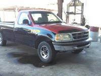 I am parting out a 1998 Ford F-150. The engine is