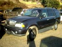 We are parting out a 2001 Lincoln Navigator call, email