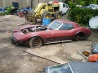 Descripción PARTING OUT 1975 CORVETTE STINGRAY 75 C3