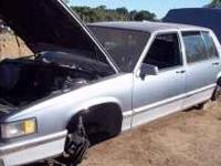Parting out 1991 Cadillac Sedan De ville no engine or