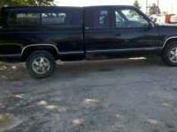 I have a 1995 Chevy Silverado 1500, 2wd, exstened cab,