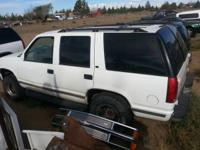 I've got a 1999 tahoe I'm parting out doors $ 125 each