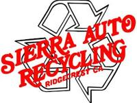 Sierra Auto Recycling is a leading supplier of high