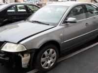 We are parting out 01 VW Passat B5.5 (see details